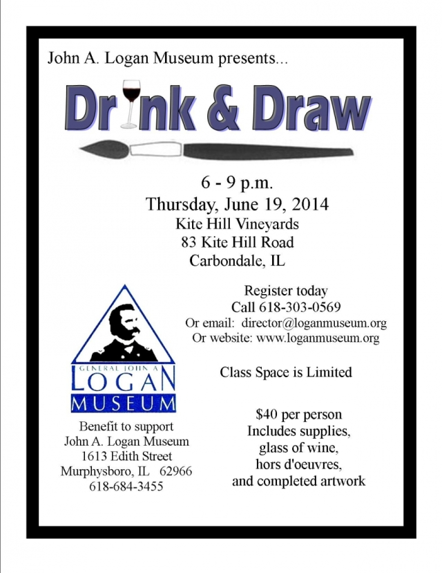 Drink & Draw - June 19, 2014